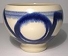 Blue & White Sengai's Universe Teabowl