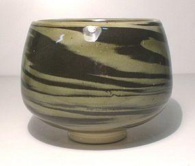Ao Neriage Wan-gata Teabowl (1103tb)