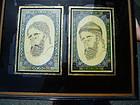 Pr Intricate 19thc Persian Miniature Portraits