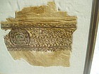 Coptic Textile 3rd-7th Century-Egyptian Mounted