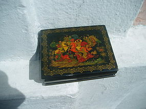 Russian Lacquer Box-Fairy Tale Painting