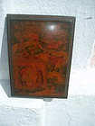 Russian Lacquer Box Painted Fairy Tale