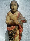 Spanish Colonial Virgin Immaculata Uruguay 19thc