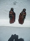 17thc Wood Carving of Mary and Joseph French