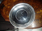 American Sterling Silver Cake Plate Cartier