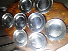 8 American Sterling Silver Bread & Butter Plates