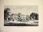 German Engraving-Schloss Benrath-1860s