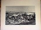 Two German Engravings-Trier-Numberg-1860s