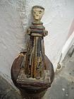 Antique Puerto Rican Santo St Anthony    Rosas