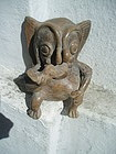 Pre Columbian Figural Ceramic  Demon