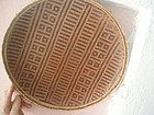 Amazon Tribal Basket Geometric Design Yanomami