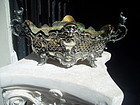 German Silver 19thc Planter Center Piece Marked