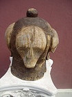 Antique African Fang Helmet Mask ca 1900