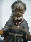 Carved Wood 19thc Philippine Santo St Francis