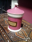 19thc French Porcelain Apothecary Jar