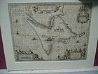 Early Dutch 18thc Map MAGELLANCIA PATAGONVM