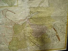 18thc Dutch Map BORUSSIAM {BELARUS} H. HEREDES 1773
