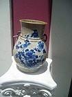 19thc Chinese Ming Style Oatmeal Glaze Vase