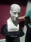 Lge English Porcelain Phrenology Bust ca 1900