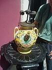 Antique Italian Terracotta Jug as Lamp ca 1900