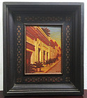 Oil Painting Puerto Rico By Alan McCurdy dtd 92 Sgnd