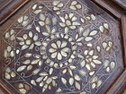 Syrian 19thc Inlay Mother of Pearl Taboret Table