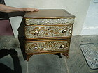 19thc Mother of Pearl Inlay Syrian Chest of Drawers