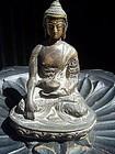 Antique Bronze Chinese Buddha