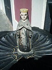 Antique Puerto Rican Santo Virgin Mary