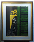 Puerto Rican Lithograph by J. Alicea Ltd  Ed Lstd Sales