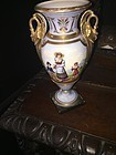 19thc French Old Paris Porcelain Classic Urn 1860