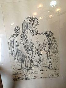 Italian Lithograph Giorgio de Chirico Sgnd Ltmd Ed  Listed