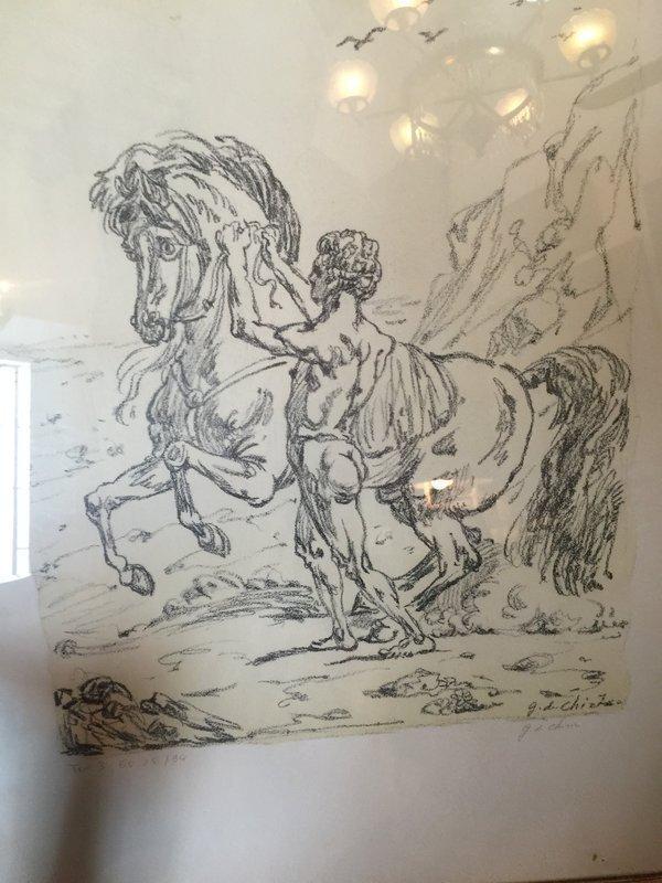 Italian Lithograph Giorgio de Chirico Sgnd lmtd Ed listed