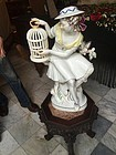 German Porcelain Maiden Art Deco
