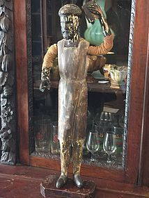 Spanish Colonial 18thc Dress-Up Santo St Vincent Ferrer