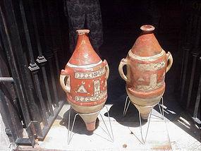 Tuareg  Islamic Amphoras-Pair-Early-200yrs