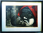 Puerto Rican  Lithograph by Alicea  Sgnd Lmtd Edition