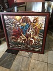 Fabulous Stained Glass Arnaldo Maas 3 Kings Sgnd  1974 dtd