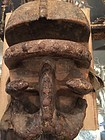 Antique Hardwood African  Dance Mask-Beta Tribe 19thc