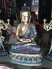 Lge Ching Dynasty Spectacular Closinne Chinese Buddha 32 In High