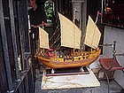 Chinese Armed Junk-Handmade Model Ship