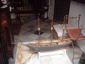 Handmade Ship Model-Schooner-ca  1900