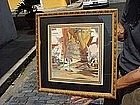 American Watercolor-Sgd-Listed-Pirates