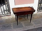 Anglo-Indian Rosewood Tray on Stand