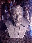 Spanish Bronze Jose Ortega Y Gasset signed