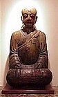 Chinese Buddha carved wood 500 yrs