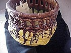 English Ceramic  Chinoisers Planter Ca 1875