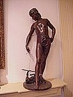 Bronze Statue by C L  Steiner