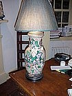 Chinese Vase converted to lamp