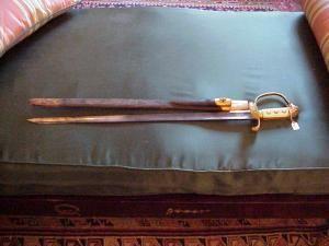 Sword, German Hunting (Ivory handle)